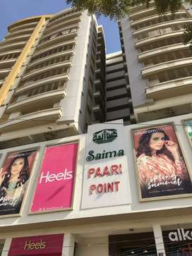 Brand New Road Facing Flat For Sale In Saima Paari Point