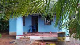 Small house..10 cent land with water electricity facilities..road side