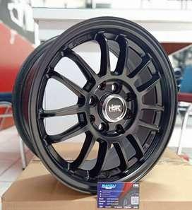 Velg Mobil Racing HSR REVO Ring 14 Hole 8X100-114,3 ET 35 Black