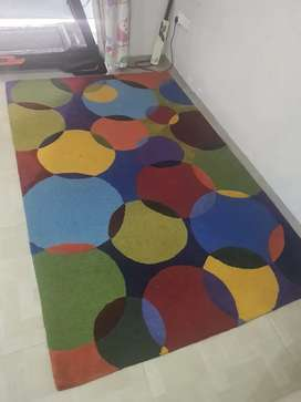 Colourful High Quality Rugs / Carpet almost new