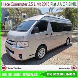 Hiace Commuter 2.5 L Manual 2018 AA Tgn1 ISTIMEWA