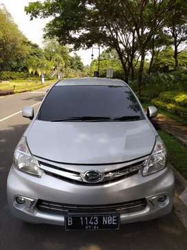 Daihatsu Xenia type R duluxe 2014 km 60rb istmwa