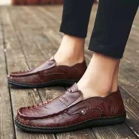 Sepatu Kulit Asli Sepatu Buatan Tangan Resmi Jahitan