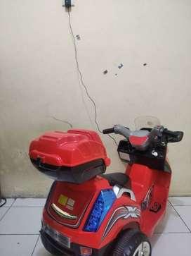Mainan anak motor charger pake aki
