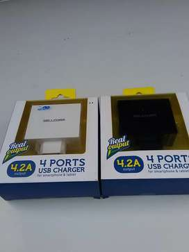 JUAL CHARGER 4 PORT USB2