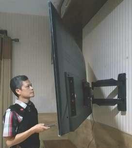 pasang jual BRACKET SWIVEL yg bisa belok kiri kanan buat gantungan tv