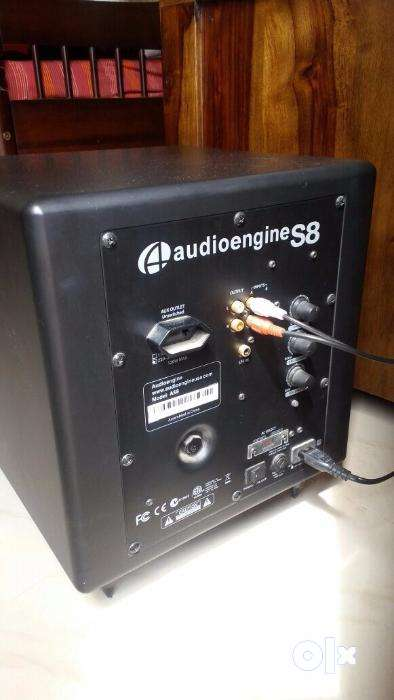 AudioEngine A5 Plus Speaker with S8 sub and APTX4.0 and DAC 0