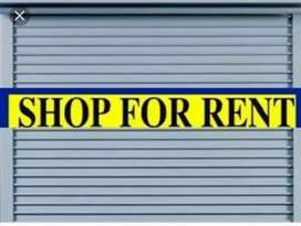Main Road Shop Available for rent