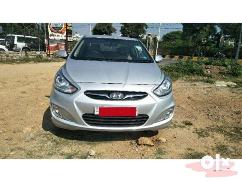 Hyundai Verna Fluidic 1.6 CRDi SX, 2014, Diesel 0