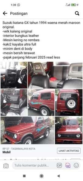 Mobil katana gx thn94