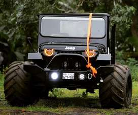 Modified  angry birds jeep