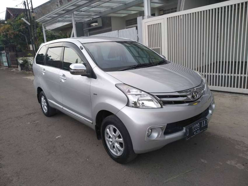 New Avanza Mulus G Manual 2013 Silver 0