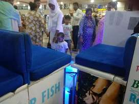 FISH PEDICURE RUNNING PROFITABLE OUTLET FOR SALE