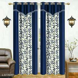 Trendy Polyester Door Curtains