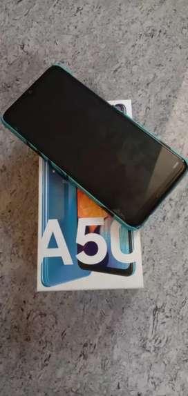 A50 Blue colour 6GB varient.. full box