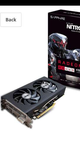 AMD RADEON SAPPHIRE NITRO RX 460 DDR5 4 GB GRAPHICS CARD WITH WARRANTY