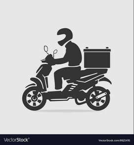 Two wheeler bike delivery job