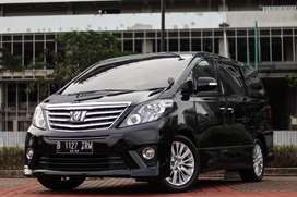Toyota Alphard S SC Audioless Aless 2.4 2013 AT Matic Facelift!!!