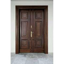 Pintu depan kupu-kupu minimalis