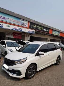 Honda Mobilio RS CVT A/T Putih Thn 2017 Kilometer Low