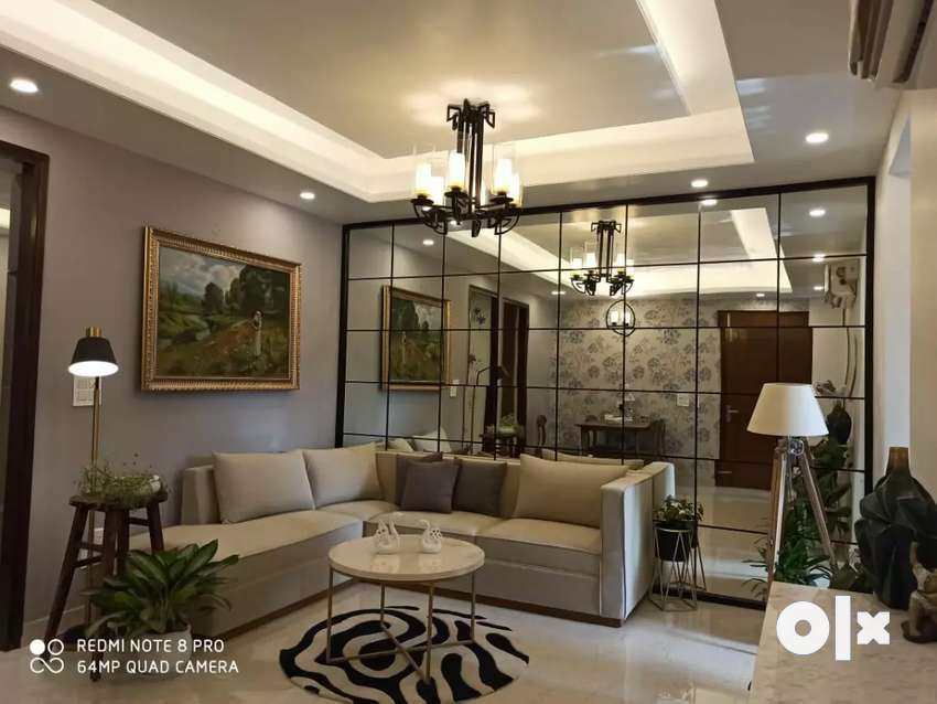 Beautiful 3 bhk flat on vip road ready to move 0