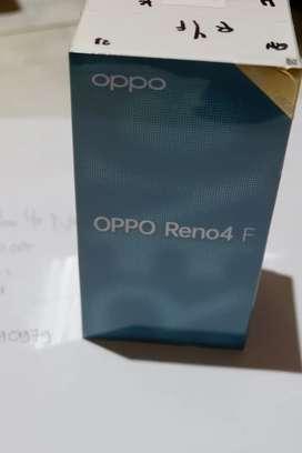 Oppo Reno 4F 8/128 black New free bonus termurah