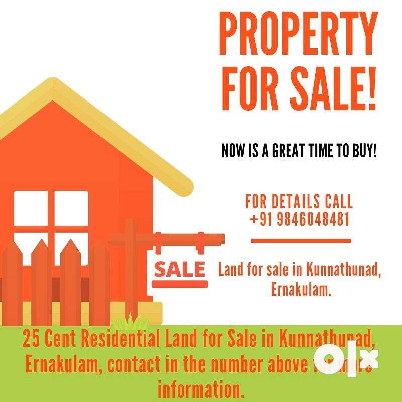 25 cent land for sale in ernakulam kochi