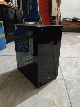 Case Casing PC CPU Cube Gaming Revalo MATX