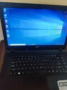Acer ES 15 AMD A4 6th generation 4gb ram  1tb hdd