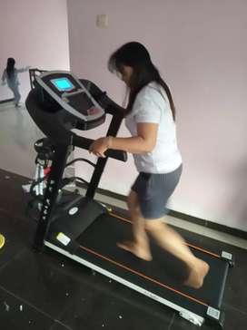 New gress Treadmill elektrik 4 Fungsi Kobe sport