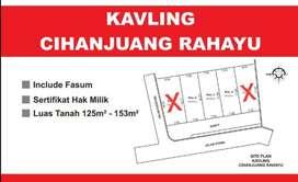 Kavling murah Bandung barat Cihanjuang dekat Ciwaruga&POLBAN