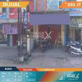 Di Jual Ruko Jl Sawojajar Malang 2 Lantai Lokasi Ramai