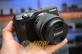 Kamera Mirrorless Canon Eos M3 Lensa 15-45mm AF Is STM