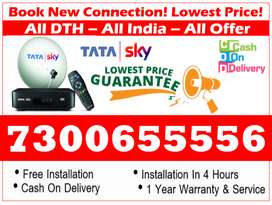 Upto 50% Off On Tata sky HD - Tatasky, Airtel, Dishtv - New DTH Book!!
