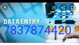 .Data administration Data Entry