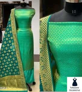 Banarasi silk dress