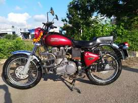 Royal Enfield Bullet Electra Red Colour