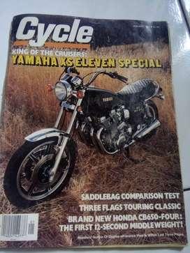 majalah otomotif import jadul cycle thn 1979