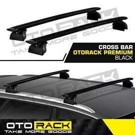 JUAL ROOF RACK/ CROSBAR OTORACK PREMIUM BLACK ALL NEW RUSH -TERIOS