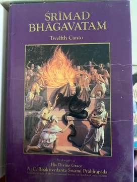 Srimad Bhagavatam all 18 Cantos Volumes - English and Hindi