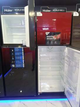 Haier refrigerator all models of inverter available.