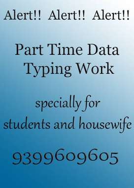 Vacancies for Home based Data Entry Operator and Typing jobs SAVE F
