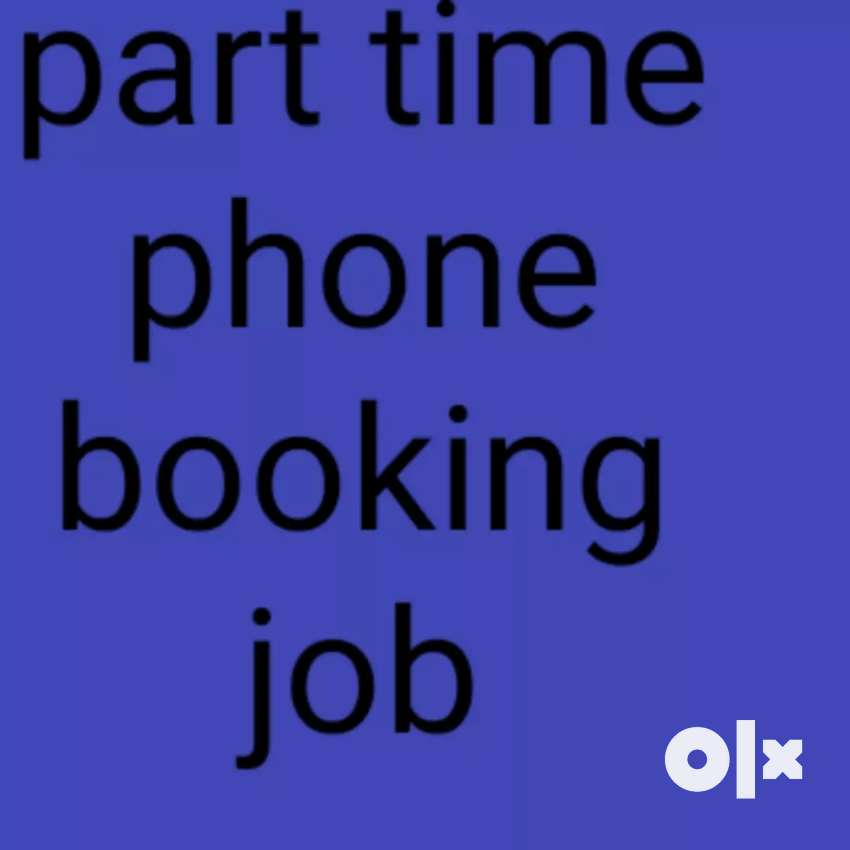 Part time job phone booking 0