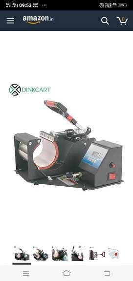 Photo printing coffe mug machine brand new