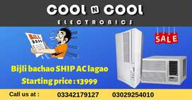 Ship ac and window ac japanese