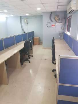 40 seats 2 cabin conference reception 4 rent in sec 63 noida