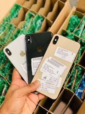 iPhone XA MAX 256Gb Original with PTA approved Kit n with box Both ava