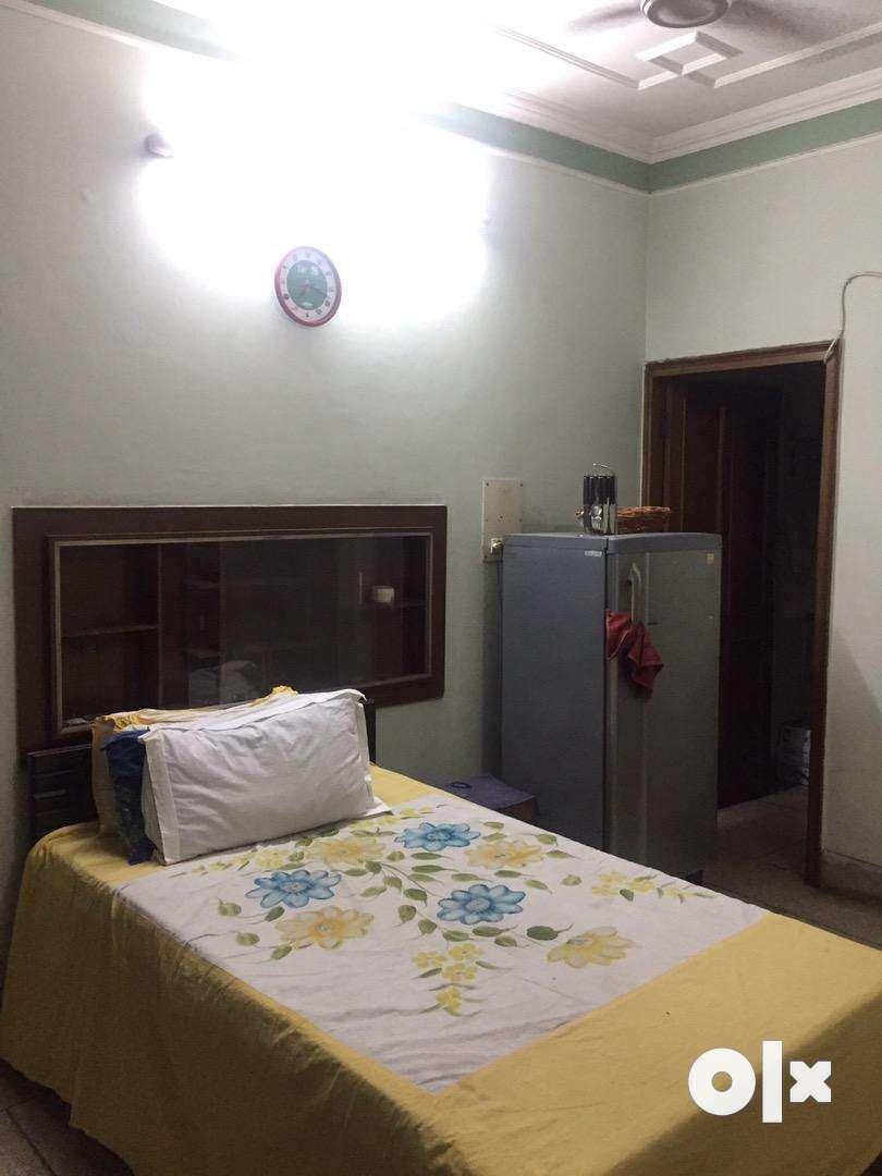 One room set including bathroom & kitchen.