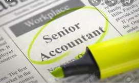Senior Accountant requirement In manufacturing companies salary depend