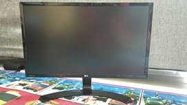 "LED LG 22MP58VQ 21,5"" + Adaptor Original (Kondisi 90%)"